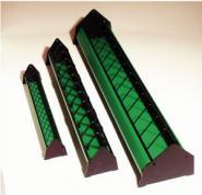 Tröge mit Fressgitter, aus Kunststoff, FS-Qualität