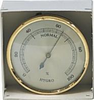 """Hygrometer Serie """"Turbo"""" Ø 68 mm"""