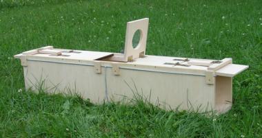Marterval, 100x18x19cm - ook voor het vangen van konijnen en ratten
